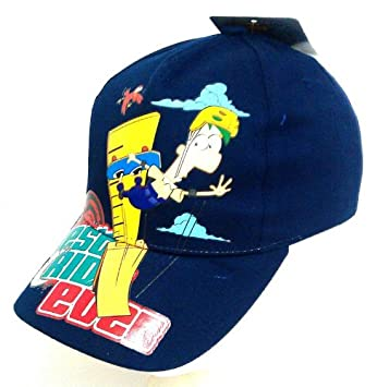Phineas And Ferb Baseball Cap Hat Clothes, Shoes & Accessories Kids' Clothes, Shoes & Accs.
