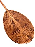 Decorative Hawaiian Outrigger Paddle 50'' w/ T Handle - Maple | #koa6079