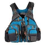 Lixada Outdoor Fishing Life Vest Safety Jacket Swimming Sailing Waistcoat Vest Floatation Floating Device