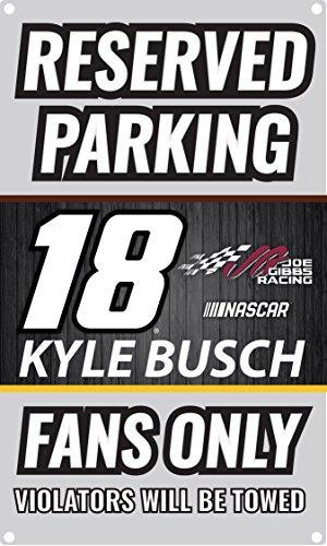 Kyle Busch #18 NASCAR Metal Sign