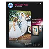 HP Premium Plus Photo Paper, Soft Gloss, A, 50 Sheets (CR667A)