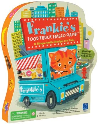 Educational Insights Frankie's Food Truck Fiasco Game ...