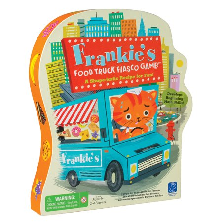 Educational Insights Frankie's Food Truck Fiasco Game, Develops Social Skills, Ages 4 and Up