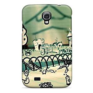 New Doodle Land Tpu Case Cover, Anti-scratch ZzLfLcQ6802SvRFN Phone Case For Galaxy S4 by supermalls