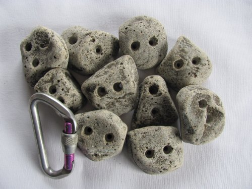Rocky Mountain Climbing Holds. 10 Screw on Foot Jibs. by Rocky Mountain Climbing Gear