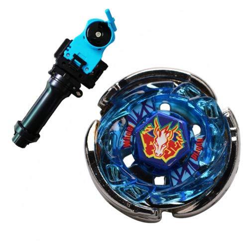 Fusion Masters 速攻バッティングスピニングトップス ジャイロスコープギフト BB28 ストームペガサス ハンドルランチャー付き B07JH855S9