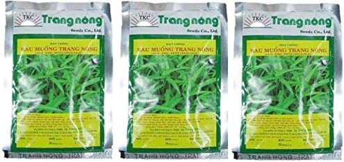 Rau Muong Trang Nong Seeds 100gram brand new package seeds EXP 2020