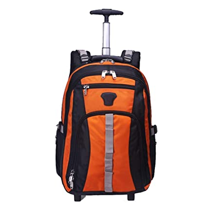 71af831bd5 DYYTR Zaino Trolley Zaino con Ruote Zaino con Ruote Samsonite Cabin  Suitcasestudent Bag: Amazon.it: Sport e tempo libero