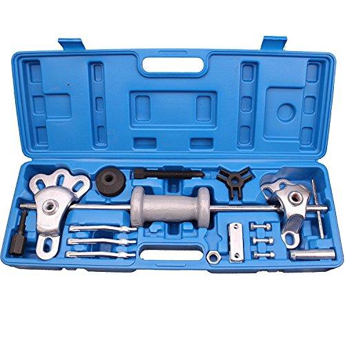 17PC Slide Hammer Puller Set Auto Body Truck Repair Tool Oil Seal Bearing Puller Set