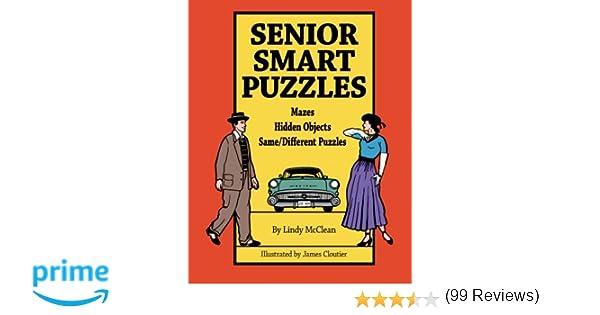 Senior Smart Puzzles: Lindy McClean: 9781419646881: Amazon.com: Books