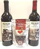 Dumas Station Walla Walla Valley Reds + Chukar Cherries Gift Set, 2 x 750 mL