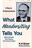 What Handwriting Tells You, M. N. Bunker, 0911012028