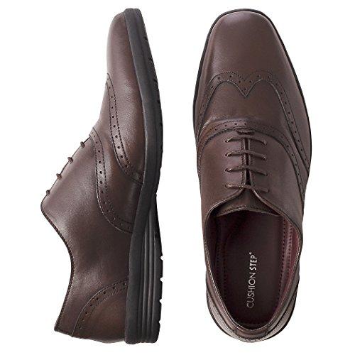 Redfoot Zapatos de Cordones de Piel Para Hombre Marrón Marrón WYTUbNzyvz