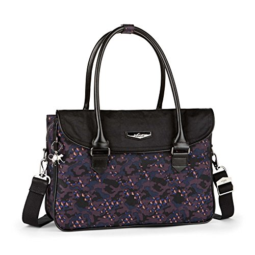 Kipling Superwork S, Briefcase, Multicolor (Soft Camo Bl), 38 cm, 11 liters -