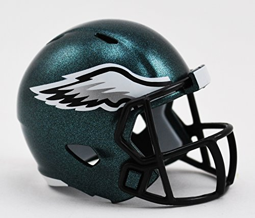 Philadelphia Eagles NFL Riddell Speed Pocket PRO Micro/Pocket-Size/Mini Football Helmet