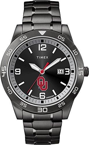 Timex University of Oklahoma Sooners Men's Black Acclaim Watch
