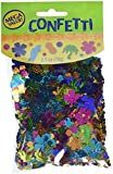Amscan Tiki Beach Theme Foil Confetti Decoration Mix Party Supplies (12 Piece), Multicolor, 2.5 Oz