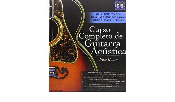 CURSO COMPLETO DE GUITARRA ACUSTICA - 1 Vol. + 2 Cds Música ...