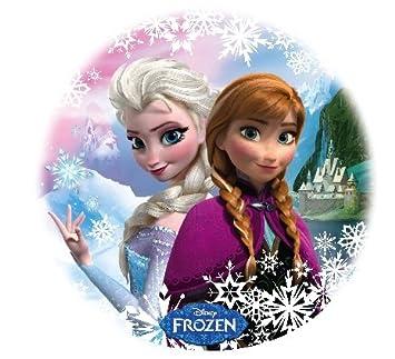 14 Sheet Disney Deco Pac Frozen Birthday Photo Cake Topper