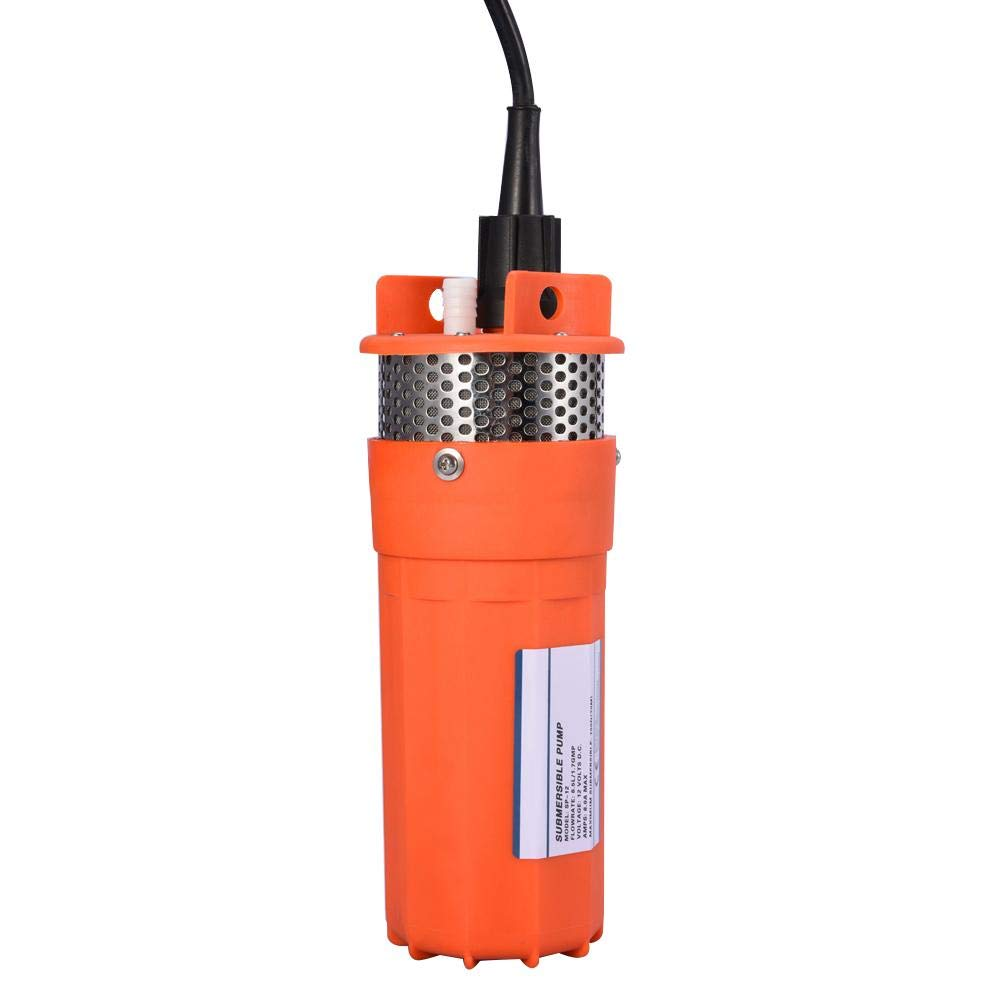 12V Submersible Deep Well Water DC Pump Alternative Energy Solar Powered Widely used in Outdoor Remote Water Operation Submersible Pump