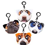 5.33'' PLUSH DOG CLIP ON, Case of 288