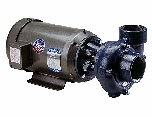 Price Pump RC200AI-406-6A111-200-36-1T6 Close Coupled Horizontal and Vertical Centrifugal Pumps, 2HP, Max 205 GPM, TEFC Motor Enclosed, 205 GSM Maximum Flow Rate, Cast Iron