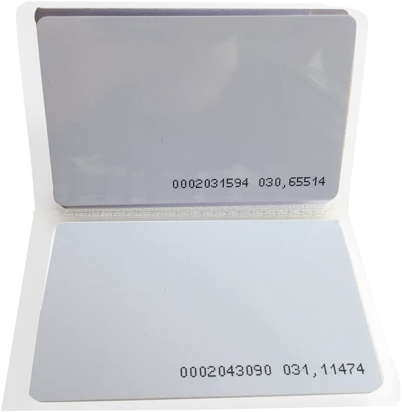 MIFARE Classic 1K Card RFID 13.56Mhz ISO14443A Door Access Entry-200pcs