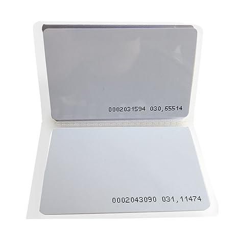 YARONGTECH Proximity Card 125khz tarjeta RFID EM4100/4102 ...