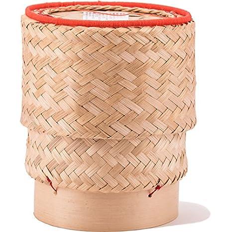 Bambuskorb Zum Reis Kochen 15cm Amazon De Lebensmittel Getranke