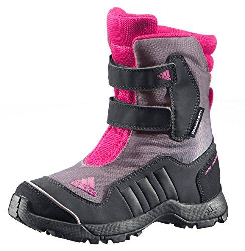 adidas Performance Kinder Winterschuhe schwarz/grau/pink