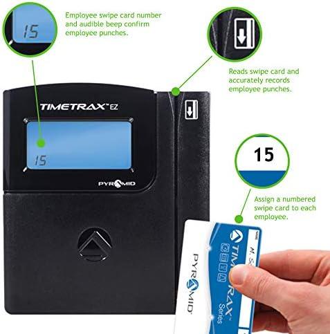 Swipe Card Time Clock System