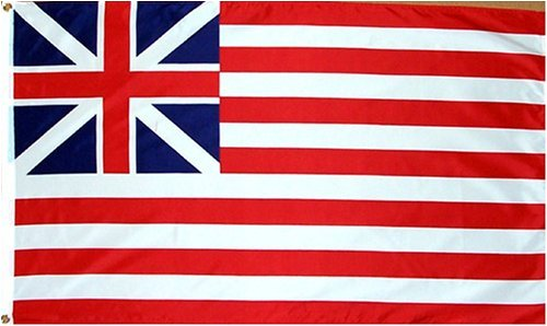 Grand Union HISTORICAL Flag - 3 foot by 5 foot Polyester