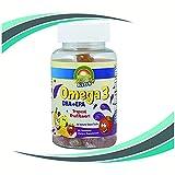 VitaPride Kids Complete Vitamin Gummies, Omega 3 DHA-EPA Fish Oil, Tropical Flavor Gummy- 60 Count