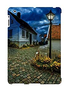 CfJdOdt12595igurt Crazinesswith Street In Small Norwegian Town Feeling Ipad 2/3/4 On Your Style Birthday Gift Cover Case