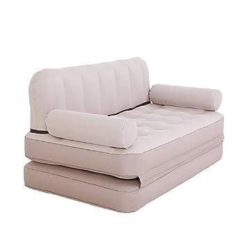 Houtdo Hinchable Sofa Cama Aire Portatil Cama Inflable Uso ...