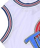 CAIYOO Mens 23# Space Movie Jersey Basketball