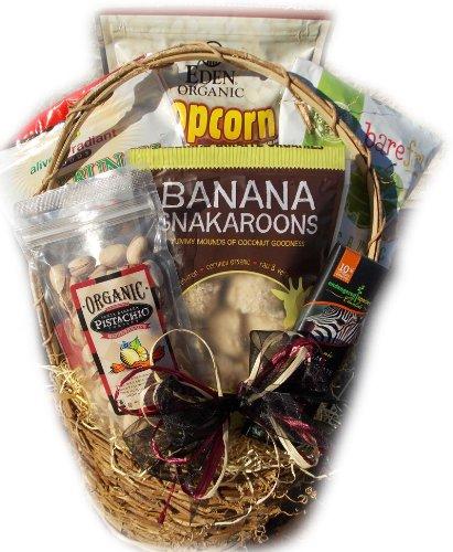 Organic Healthy Birthday Basket by Well Baskets