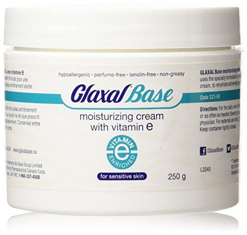 - Glaxal Base Moisturizing Cream with Vitamin E, 250 g (8.8 oz)