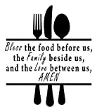 Larder Decor Wall Stickers Quotes/Family Quotes Vinyl Lettering Motivational Wall Decals/Famous Quotes Breastwork Decor: Best Vinyl Wall Decals Quotes Inspirational. Quote Wall Decals Made in USA - BLACK