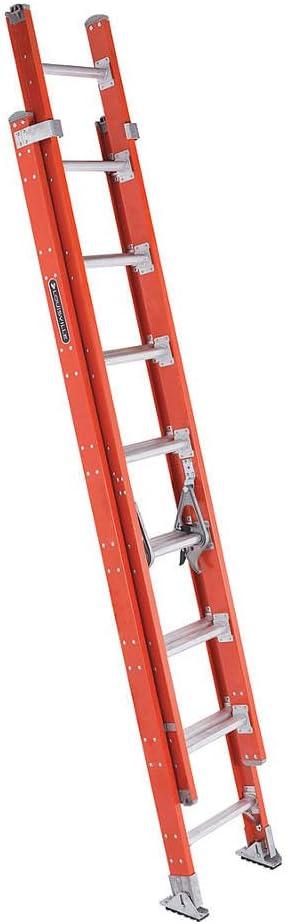 Escalera extensible, fibra de vidrio, 8 ft., IA: Amazon.es: Bricolaje y herramientas