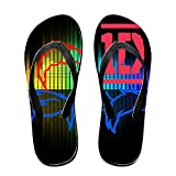 KFE-Custom Day NO. 1 Band Customize Women Sandal L Black