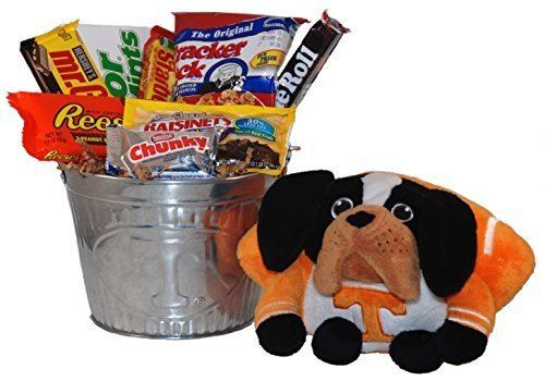 University of Tennessee Snack Bucket Gift Basket - Large