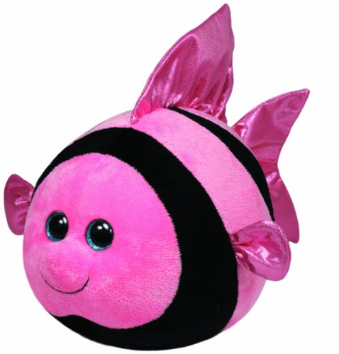Ty Beanie Ballz Gilly Angelfish Plush (Angel Fish Animal)