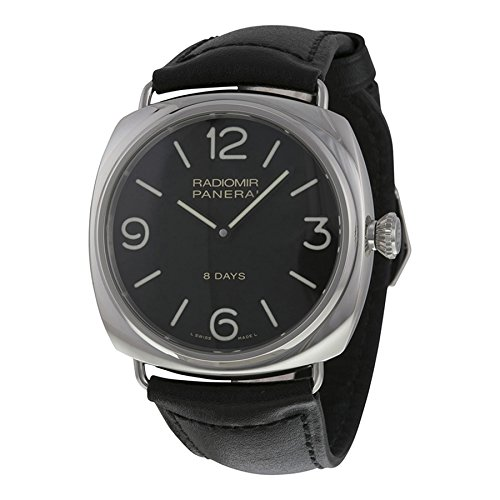 Panerai Radiomir Black Dial Leather Mens Watch PAM00610