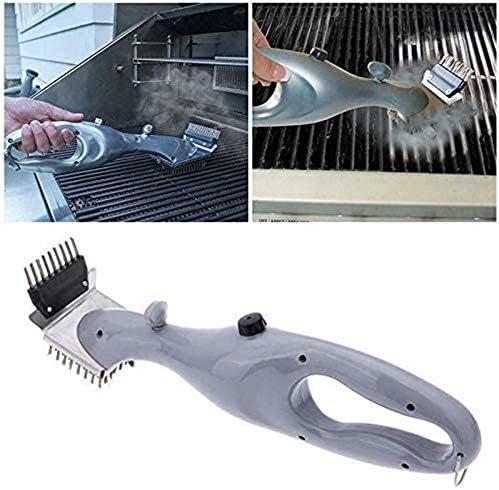 Surfilter Outils de Barbecue à Griller Brosse de Nettoyage à Vapeur pour Barbecue Barbecue Nettoyage en Acier Inoxydable Outils et Accessoires de Nettoyage ménagers
