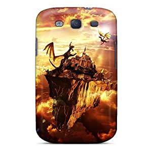 Scratch Resistant Hard Phone Cover For Samsung Galaxy S3 With Provide Private Custom Realistic Manowar Band Pattern JonBradica