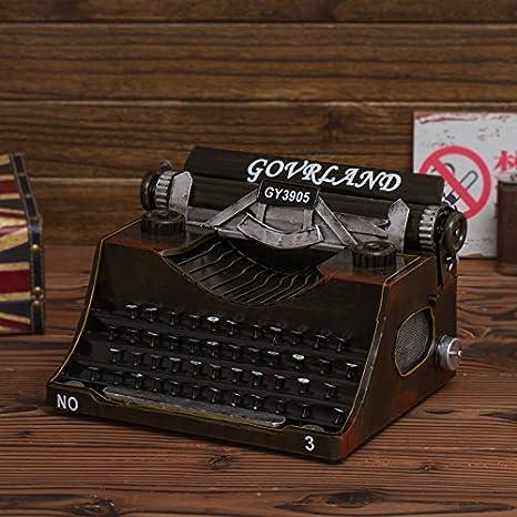 Máquinas de escribir antiguas rural americano escaparate fotografía muebles props cafés internet ornamentos: Amazon.es: Hogar