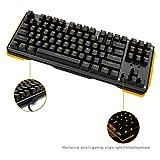 James Donkey 87 Keys Mechanical Gaming Keyboard