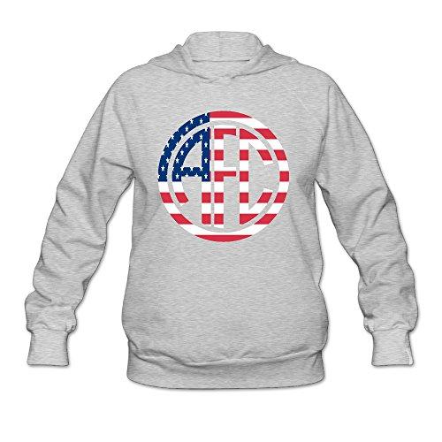 America Football Club Girls\r\n Ash Hoodie - Ireland Official Website
