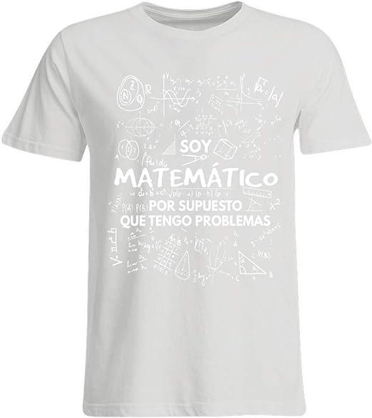 Shirtee Soy Matemático - Tengo Problemas - Camisa Oversize ...